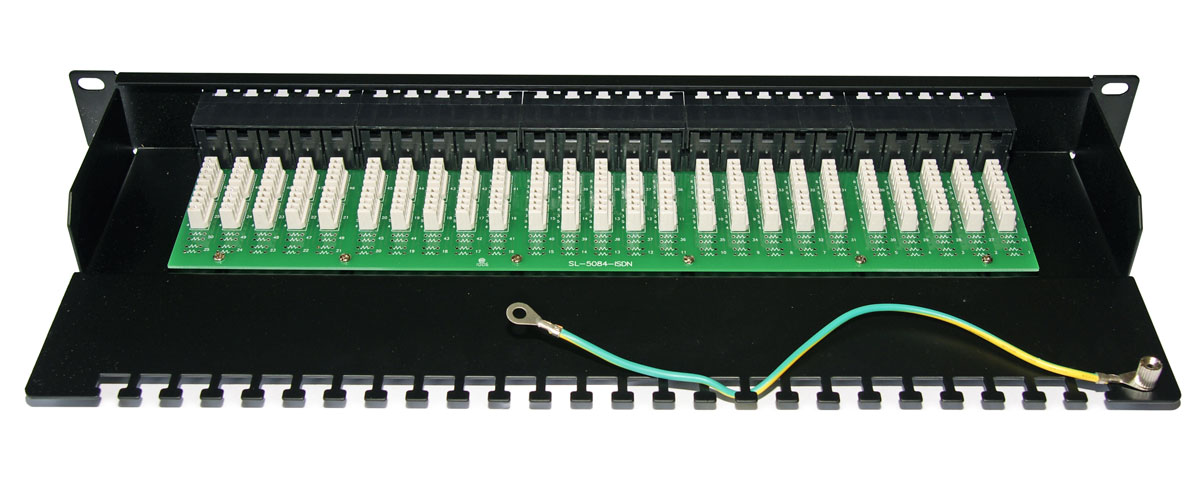 Cabeus PL-50-TEL-Krone IDC Патч-панель 19 (1U), 50 портов RJ-